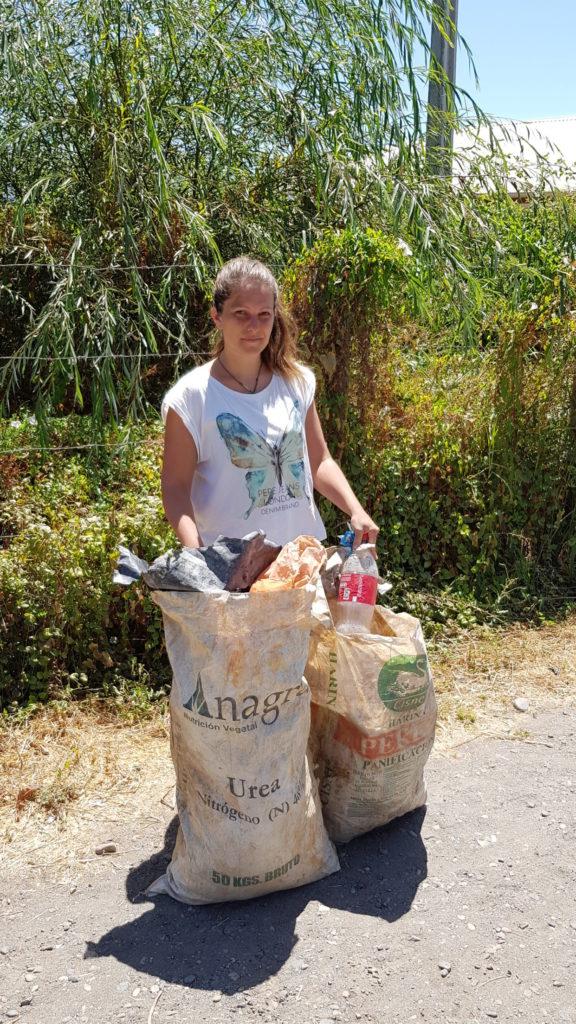 Müll sammeln in Chile_2